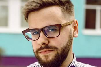 eyeglasses male hipster head Copy